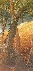 Detail from 'The Magic Apple Tree' by Samuel Palmer