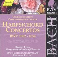 Bach: Harpsichord Concerti BWVs 1052-54