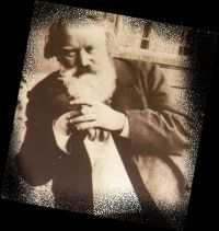 One of the last photographs of Brahms