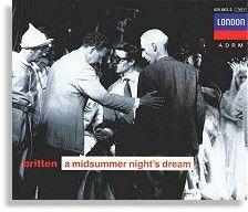 Britten at a rehearsal for 'Midsummer', 1960