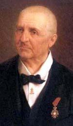 Anton Bruckner - Portrait by Josef Bche