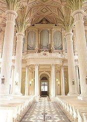 Interior of the Nikolaikirche