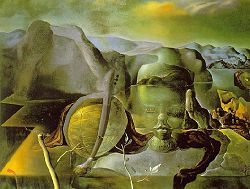 'The Endless Enigma', 1938 by Salvador Dali
