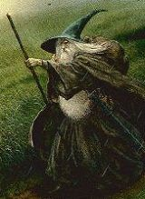 'Gandalf' - Detail from a painting after Tolkien by John Howe