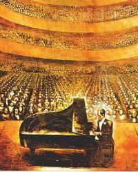 'George in an Imaginary Concert Hall' by David Siqueiros