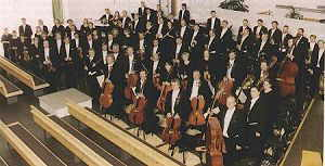 The Lahti Symphony Orchestra at the Church of the Cross