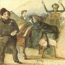 Liszt performs the Galop Chromatic