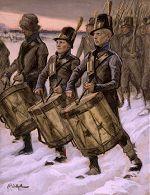 'March of the Men of Pori' (1897-1900), by Albert Edelfelt