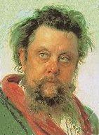 Modest Mussorgsky - Portrait by Ilya Repin, 1881