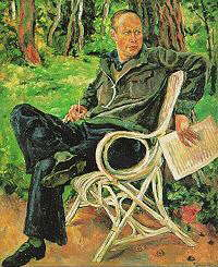 Portrait of Prokofiev (1934) by Piotr Konchalovsky