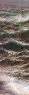 Detail from 'In Caernarvon Bay' by Thomas Rose-Miles