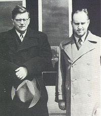 Shostakovich with David Oistrakh