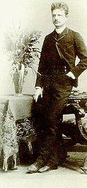 Sibelius in 1889