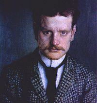 Portrait of Sibelius (1892) by Eero Jrnefelt