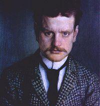 Portrait of Sibelius (1892) by Eero Järnefelt
