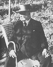 Jean Sibelius in his old age