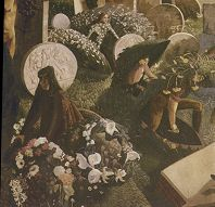 Detail from 'The Resurrection, Cookham' (1924-6) by Sir Stanley Spencer