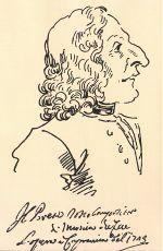 Caricature of Vivaldi