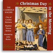 "INKPOT#87 CLASSICAL MUSIC REVIEWS: ""Christmas Day in the Morning ..."